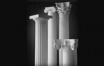 Coloane decorative Decostiren produce coloane decorative pentru fatada, intr-o gama variata de modele si dimensiuni.