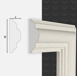 Ancadramente pentru usi si ferestre Ancadramentul Decostiren se produce personalizat la dimensiunile proiectului Dvs. si este gata pentru montaj.