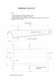 Schita excavatie piscine Marina -9X 3,8 SKYMIRROR -