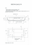 Schita excavatie piscina Delta 6,5 X3.2 R SKYMIRROR -