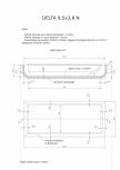 Schita excavatie piscina Delta 9,5 X3,8 N SKYMIRROR -