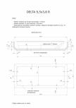 Schita excavatie piscina Delta 9,5 X3,8 R SKYMIRROR -