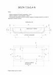 Schita excavatie piscina Delta 7,5 X3,4 N SKYMIRROR -