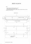Schita excavatie piscina Delta 10,5 X4 N SKYMIRROR -