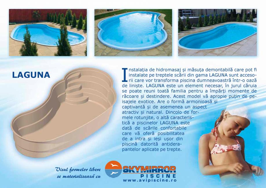 Pagina 7 - Catalog 2018 piscine rezidentiale SKYMIRROR SKYMIRROR GOLF, MARINA, LAGUNA, DELTA Catalog...