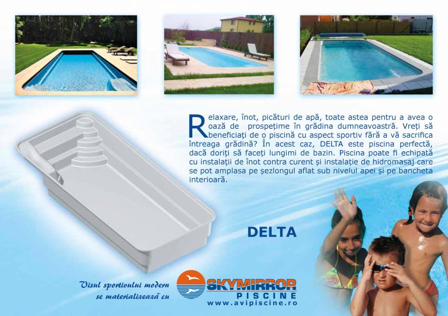 Pagina 9 - Catalog 2018 piscine rezidentiale SKYMIRROR SKYMIRROR GOLF, MARINA, LAGUNA, DELTA Catalog...