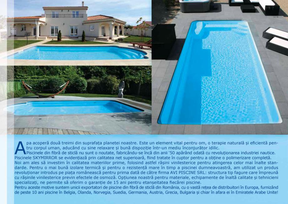 Pagina 10 - Catalog 2018 piscine rezidentiale SKYMIRROR SKYMIRROR GOLF, MARINA, LAGUNA, DELTA...