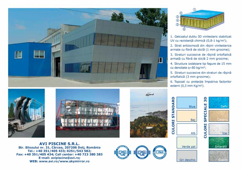 Pagina 12 - Catalog 2018 piscine rezidentiale SKYMIRROR SKYMIRROR GOLF, MARINA, LAGUNA, DELTA...