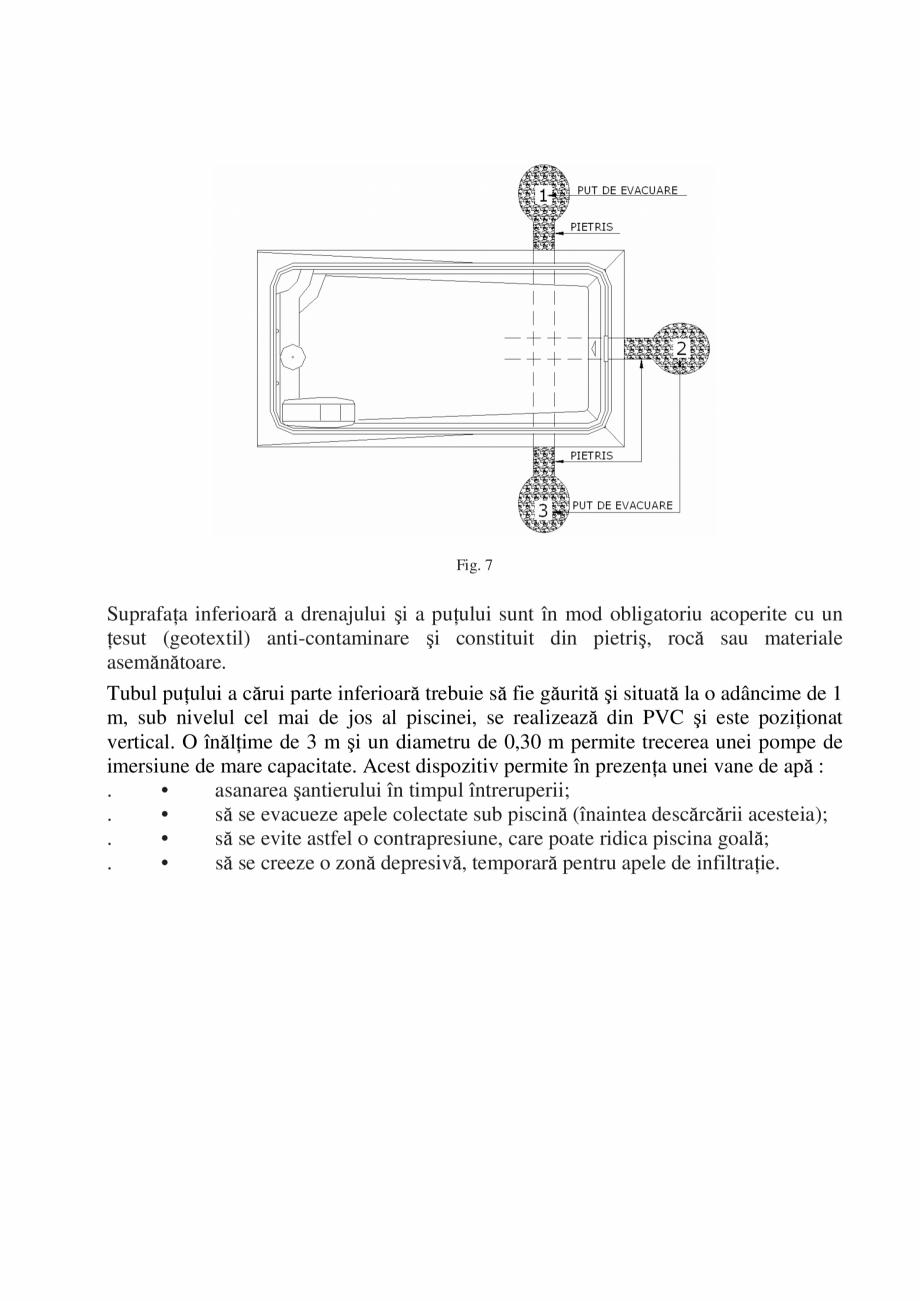 Pagina 8 - Manual de instalare si intretinere piscine SKYMIRROR GOLF, MARINA, LAGUNA, DELTA...