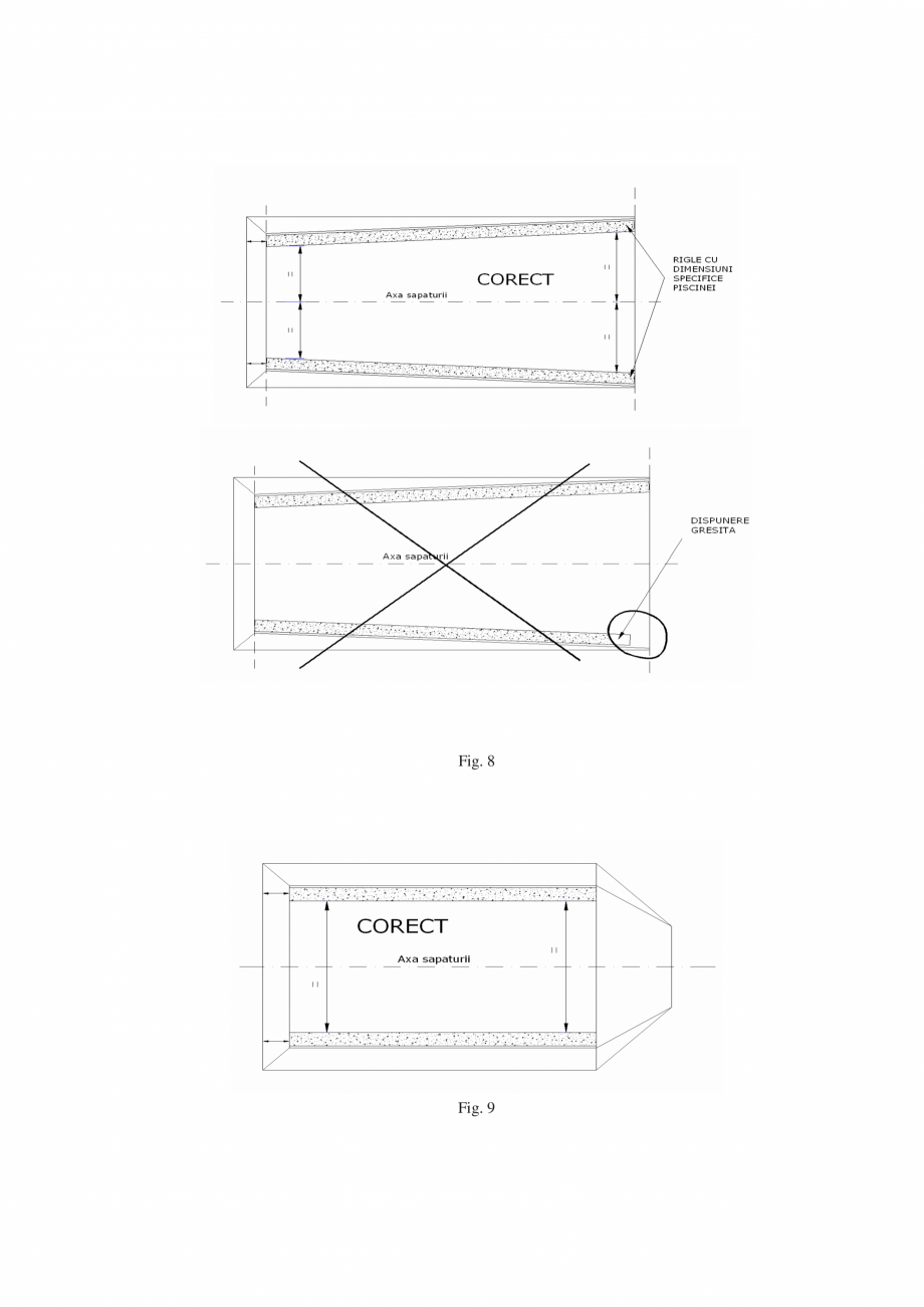 Pagina 10 - Manual de instalare si intretinere piscine SKYMIRROR GOLF, MARINA, LAGUNA, DELTA...