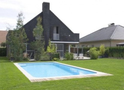 Casa cu gradina si piscina model Marina MARINA Piscina rezidentiala din fibra de sticla