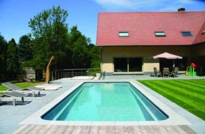 Detaliu piscina Marina MARINA Piscina rezidentiala din fibra de sticla
