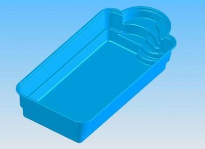 Imagine 3D Piscina Golf GOLF Piscina rezidentiala din fibra de sticla - imagini 3D