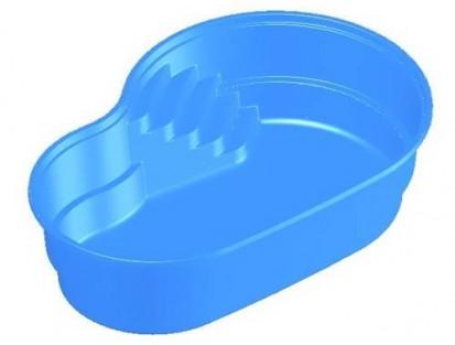 Model 3D piscina Laguna LAGUNA Piscina rezidentiala din fibra de sticla - imagini 3D