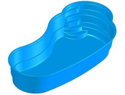 Imagine 3D - piscina Laguna LAGUNA Piscina rezidentiala din fibra de sticla - imagini 3D