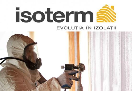Izolații cu spuma poliuretanica si utilaje de top Isoterm