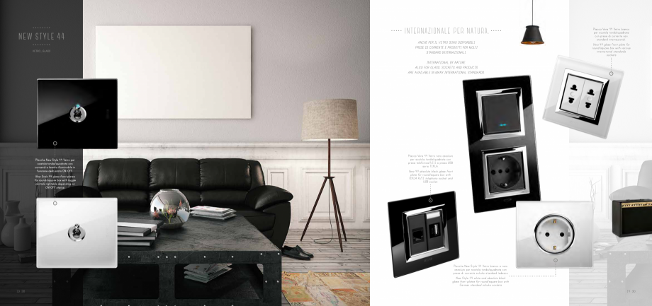 Pagina 8 - Catalog AVE New Style 44  Catalog, brosura Engleza acca Zama 44 grigio antracite con...