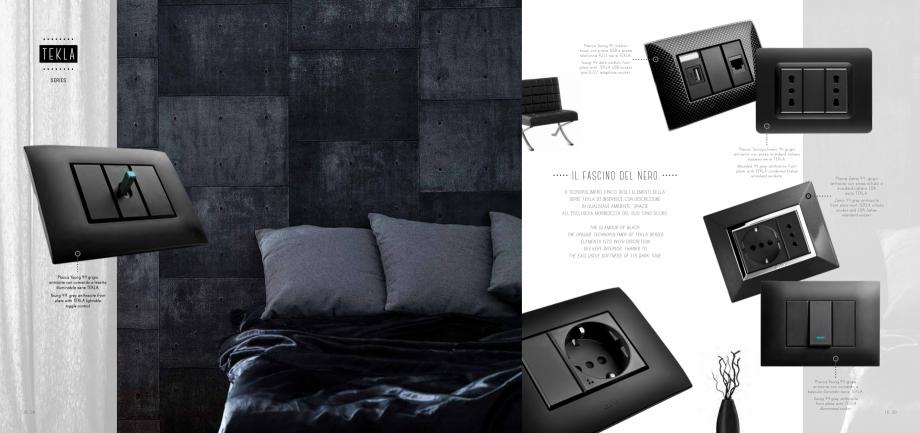 Pagina 9 - Catalog AVE New Style 44  Catalog, brosura Engleza UINE BALANCE. _ THE BRIGHT WHITE OF...