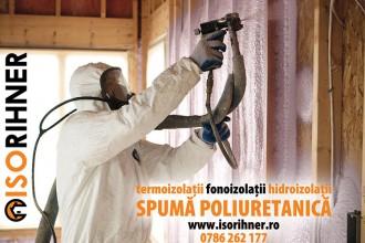 Hidroizolatii cu spuma poliuretanica pentru diferite tipuri de suprafete ISORIHNER
