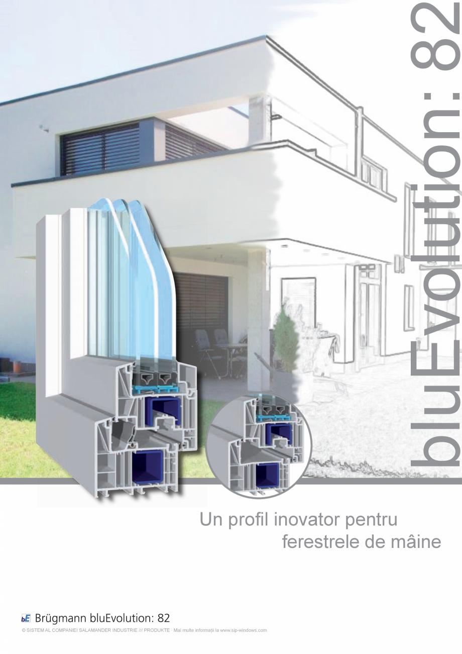 Pagina 1 - Sistem de tamplarie PVC CRIOS bluEvolution 82 Fisa tehnica Engleza bluEvolution: 8 Un...