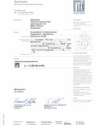 Sistem de tamplarie PVC