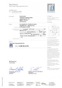 Sistem de tamplarie PVC CRIOS