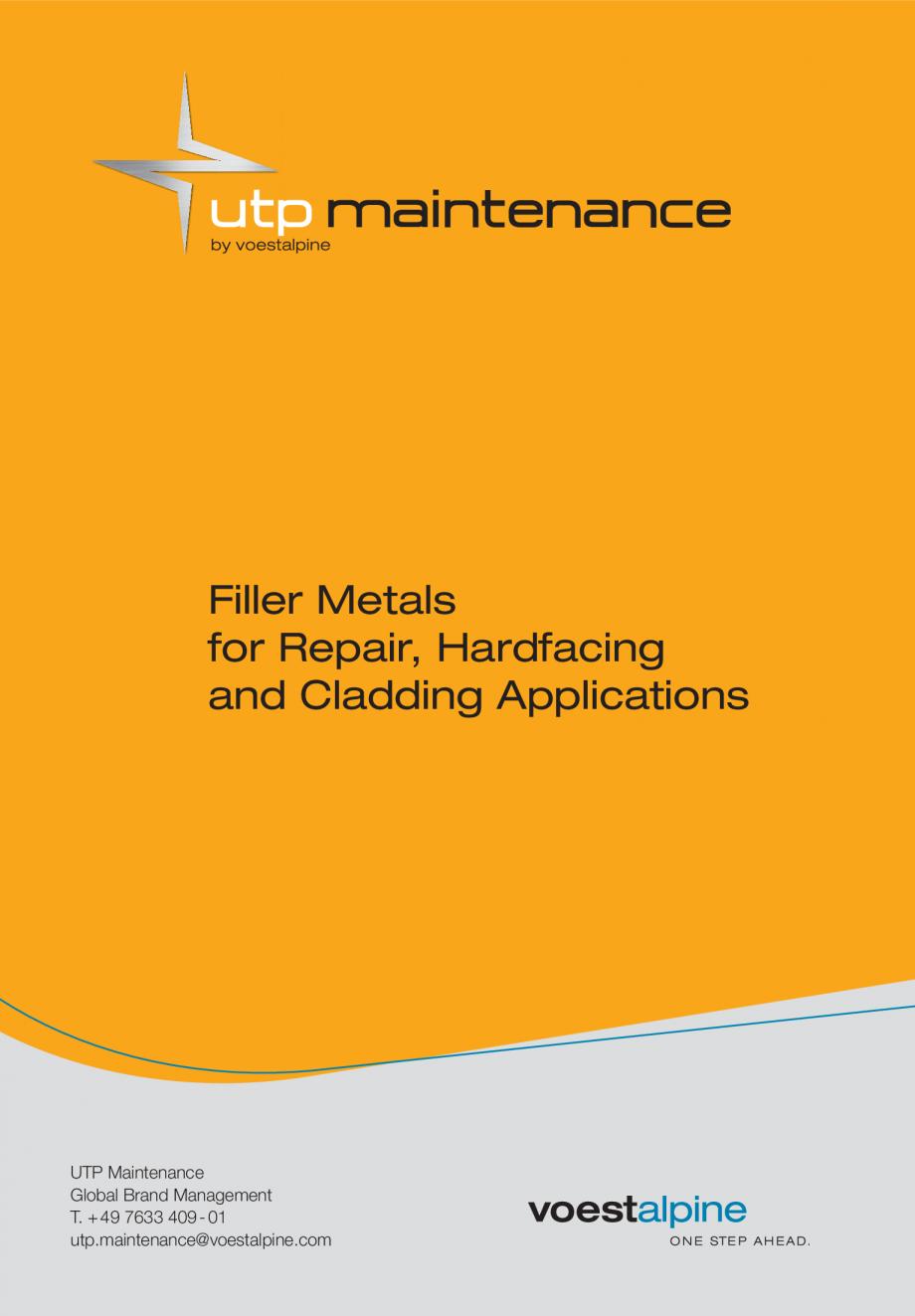 Pagina 3 - Solutii complete (materiale de adaos) pentru mentenanta si reparatii TEHNIC GAZ WELDING...