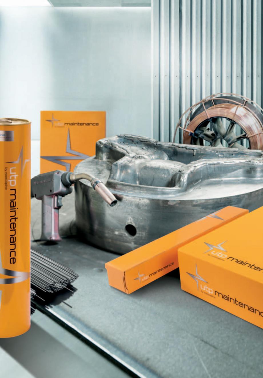 Pagina 4 - Solutii complete (materiale de adaos) pentru mentenanta si reparatii TEHNIC GAZ WELDING...