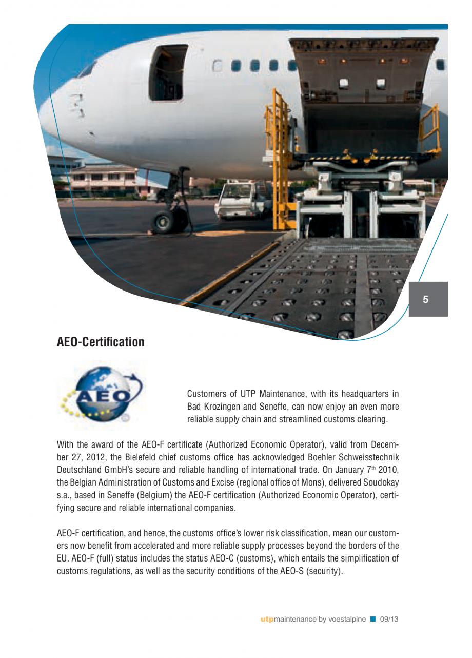 Pagina 7 - Solutii complete (materiale de adaos) pentru mentenanta si reparatii TEHNIC GAZ WELDING...