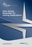 Solutii complete (materiale de adaos) pentru orice tip de aplicatie in sudare TEHNIC GAZ WELDING