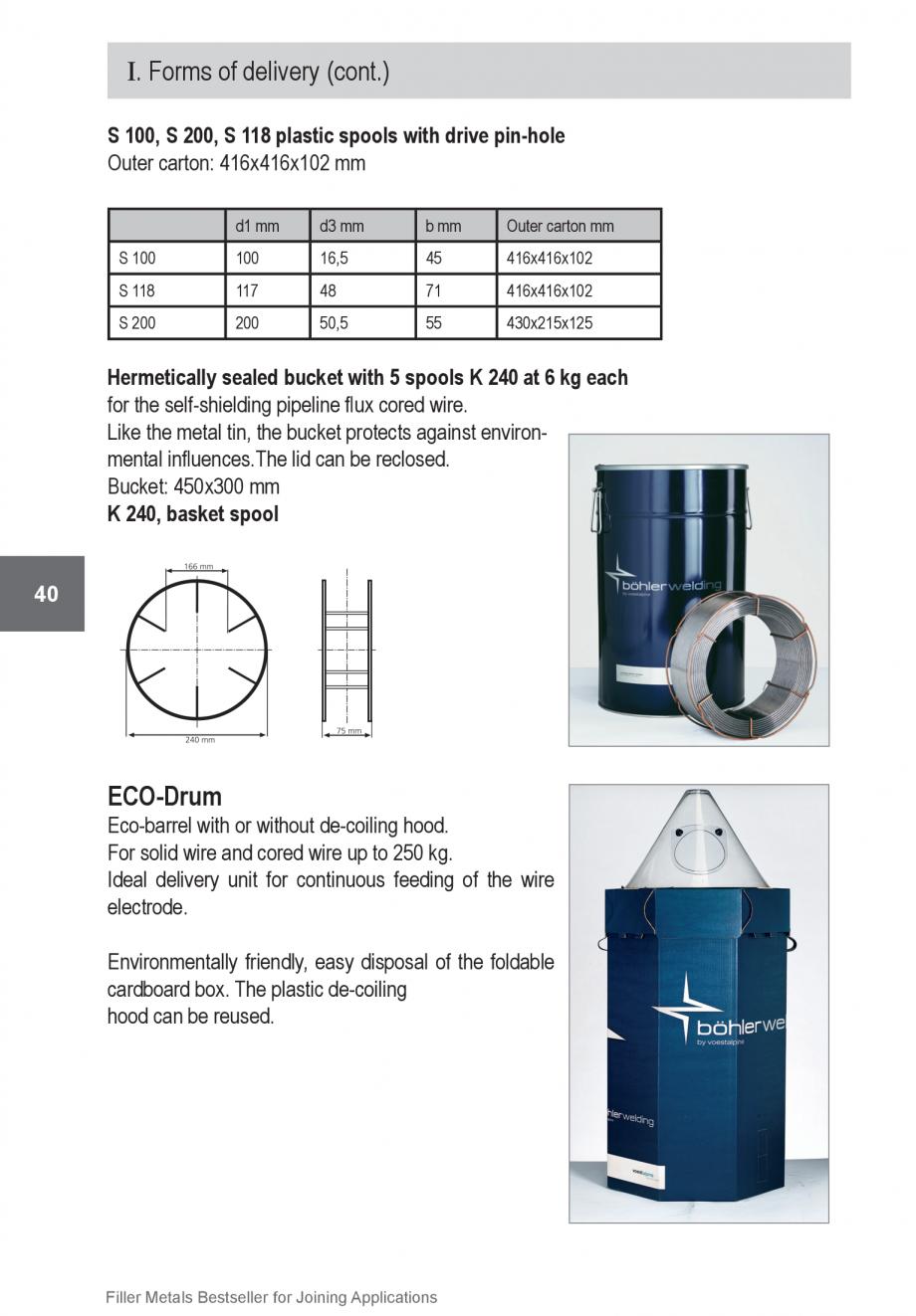 Pagina 40 - Solutii complete (materiale de adaos) pentru orice tip de aplicatie in sudare TEHNIC GAZ...
