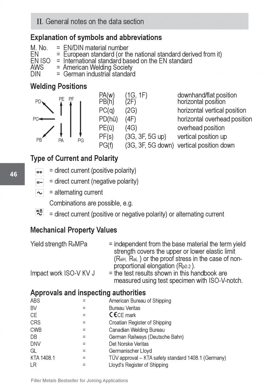 Pagina 46 - Solutii complete (materiale de adaos) pentru orice tip de aplicatie in sudare TEHNIC GAZ...