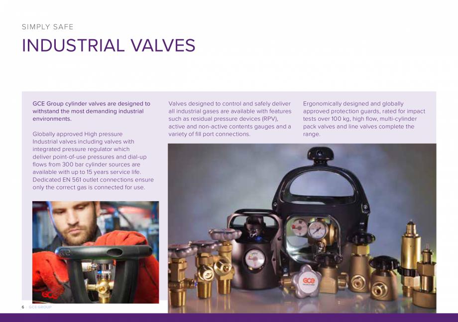 Pagina 6 - Reductoare de presiune industriale si medicale TEHNIC GAZ GAS EQUIPMENT HF-SET, DINSET,...