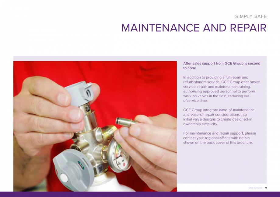 Pagina 9 - Reductoare de presiune industriale si medicale TEHNIC GAZ GAS EQUIPMENT HF-SET, DINSET,...