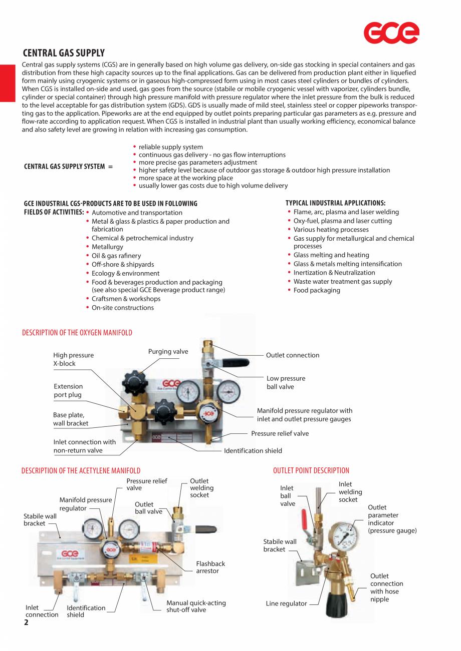 Pagina 4 - Sisteme centralizate de alimentare cu gaz - Reductoare de presiune TEHNIC GAZ GAS...