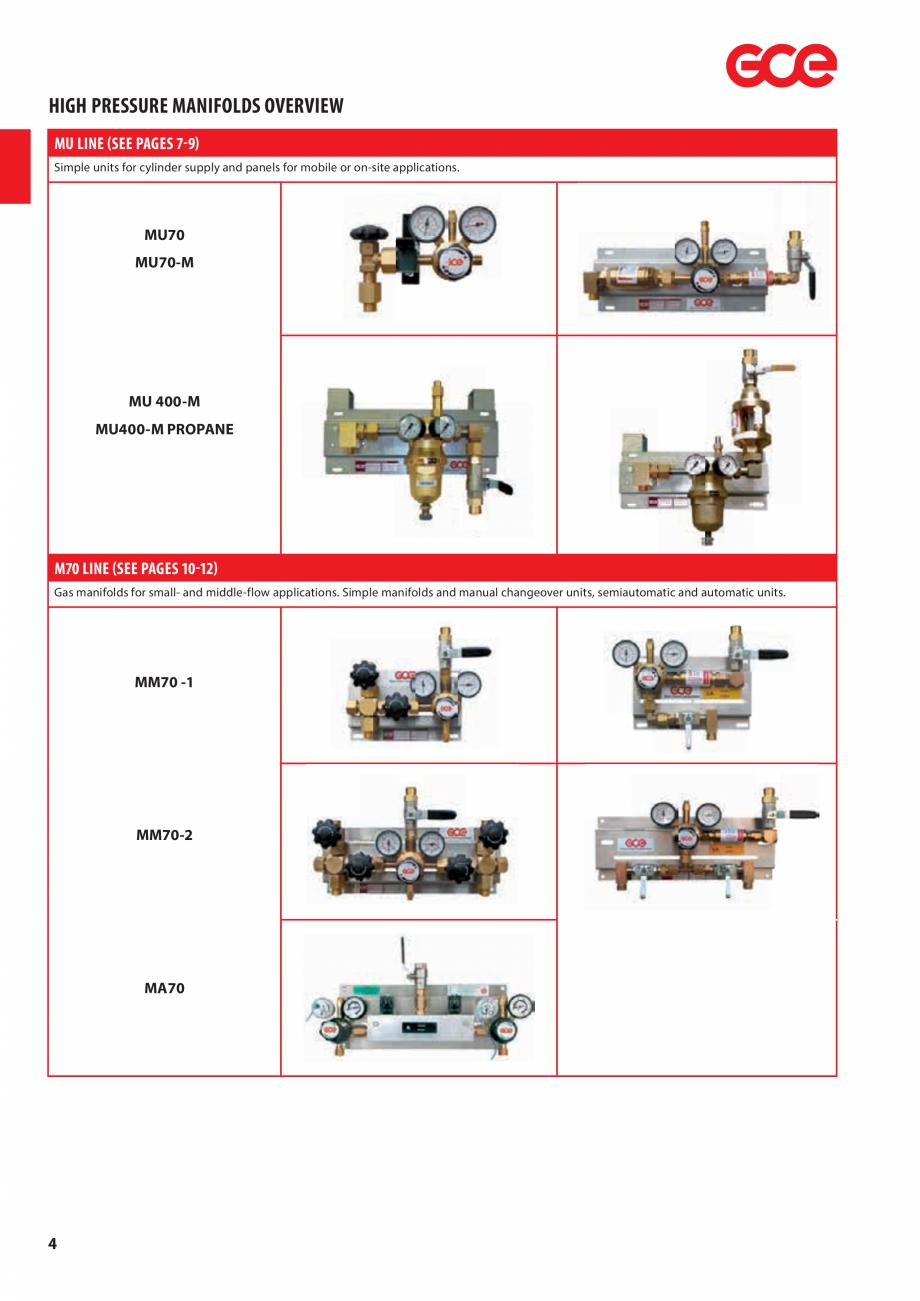 Pagina 6 - Sisteme centralizate de alimentare cu gaz - Reductoare de presiune TEHNIC GAZ GAS...