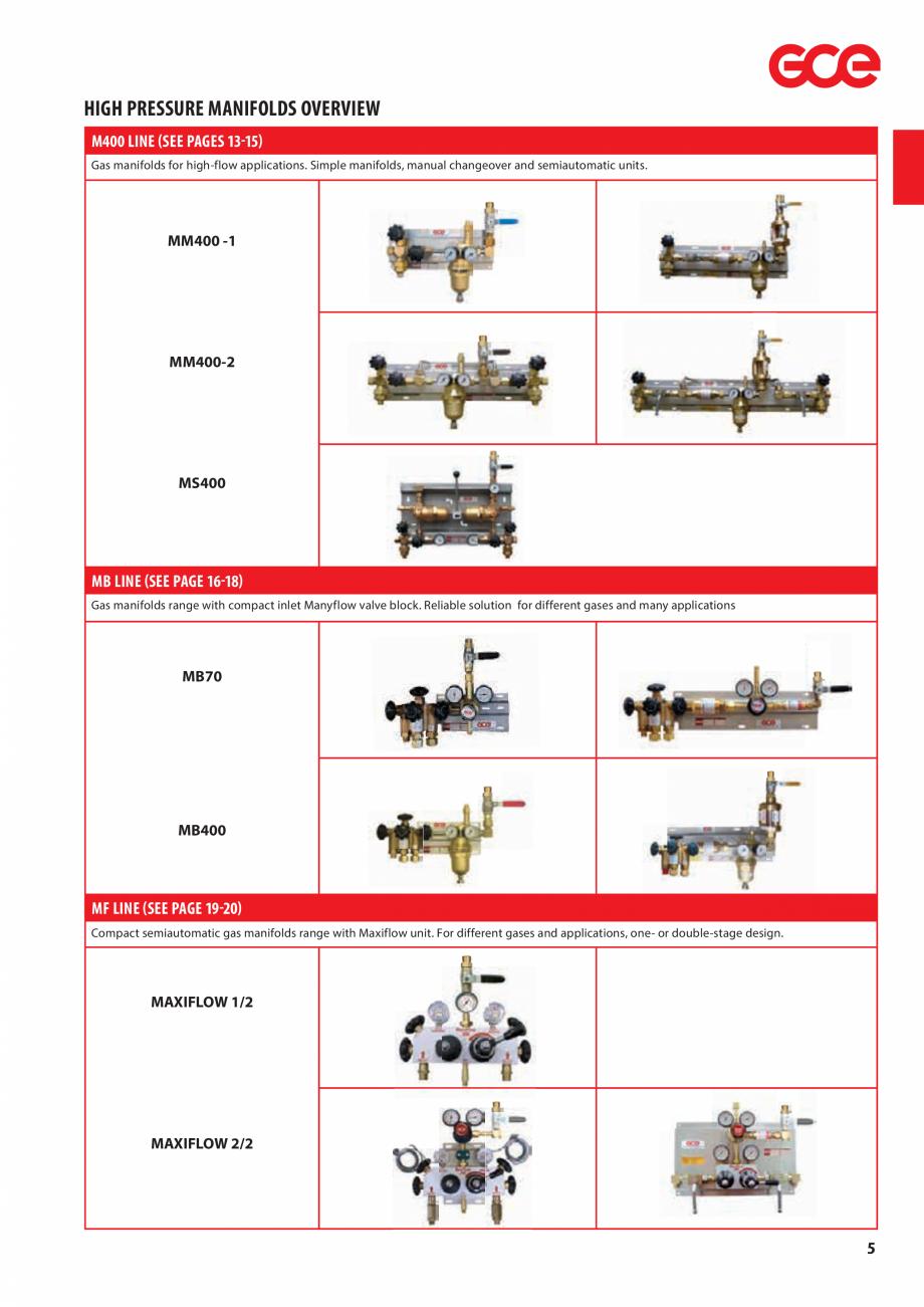 Pagina 7 - Sisteme centralizate de alimentare cu gaz - Reductoare de presiune TEHNIC GAZ GAS...