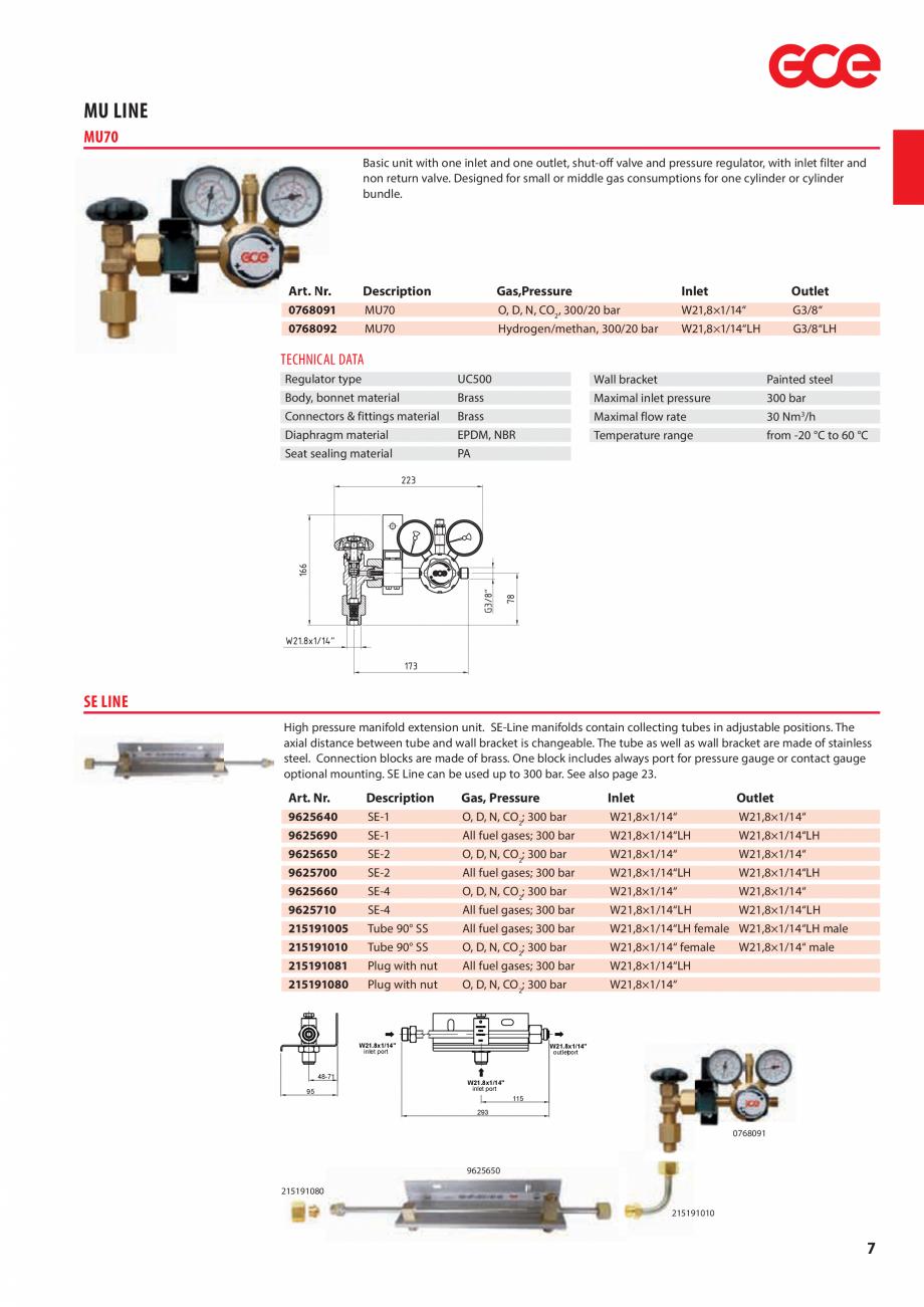Pagina 9 - Sisteme centralizate de alimentare cu gaz - Reductoare de presiune TEHNIC GAZ GAS...