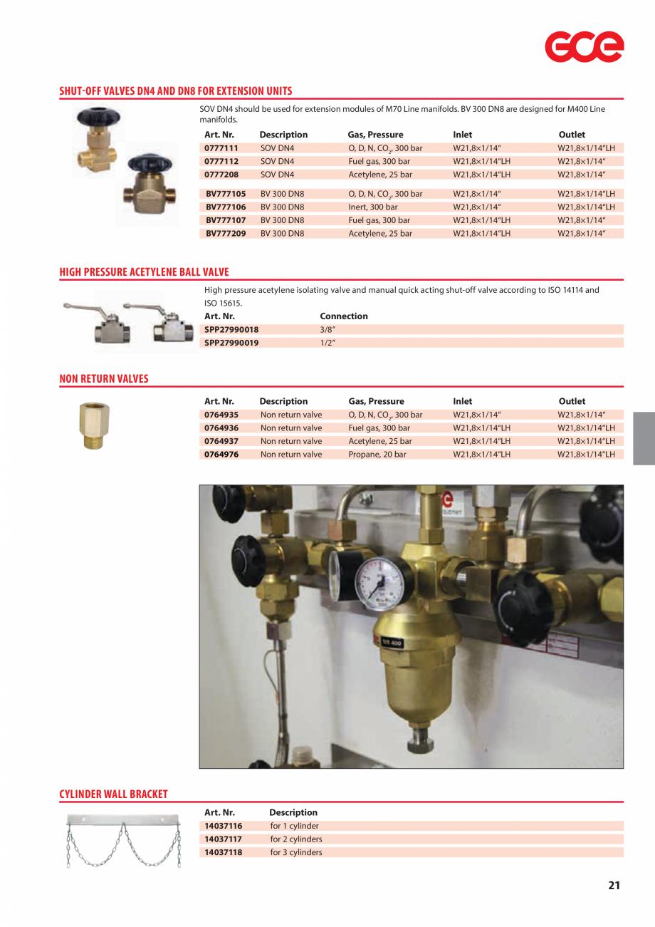 Pagina 23 - Sisteme centralizate de alimentare cu gaz - Reductoare de presiune TEHNIC GAZ GAS...