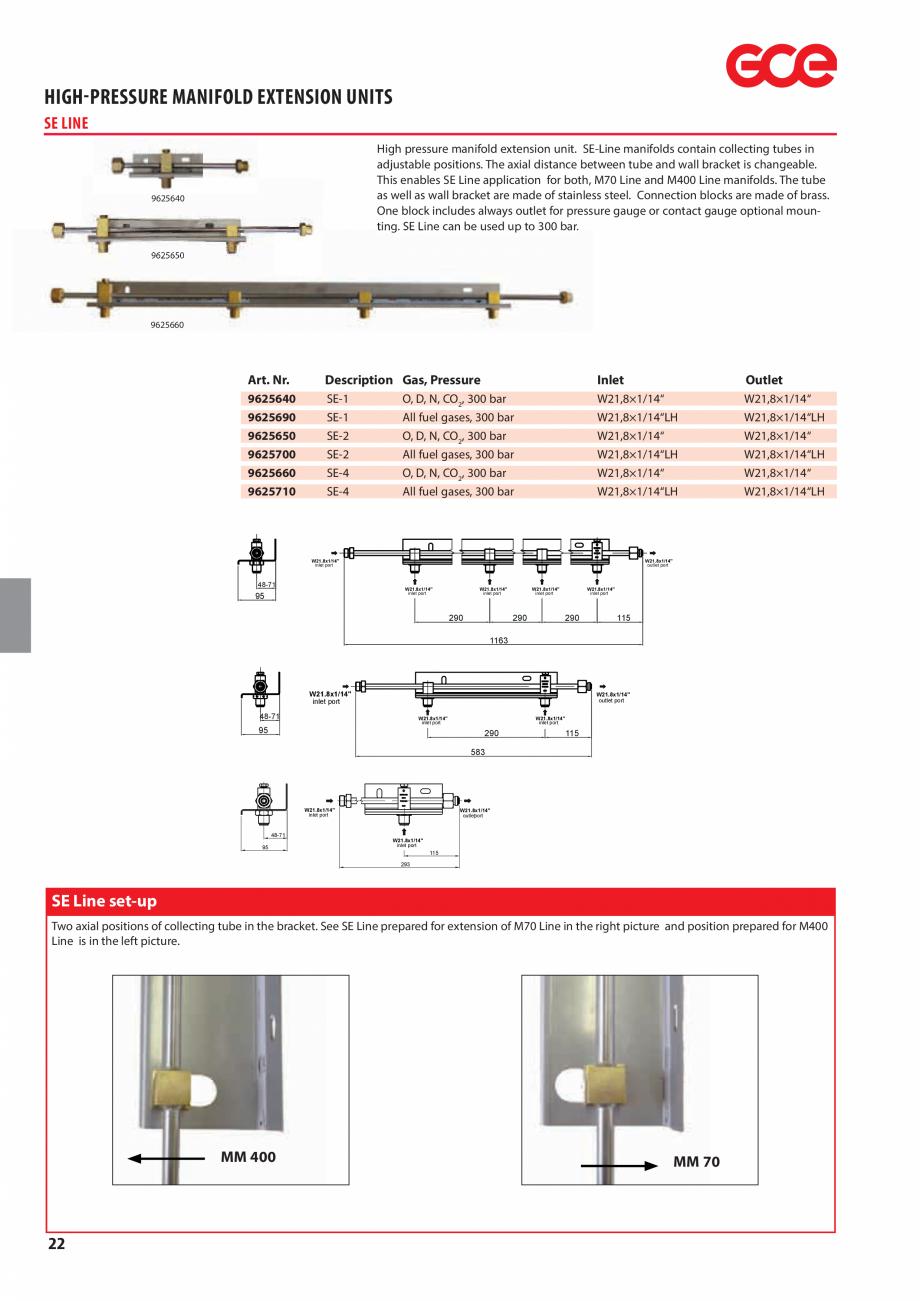 Pagina 24 - Sisteme centralizate de alimentare cu gaz - Reductoare de presiune TEHNIC GAZ GAS...