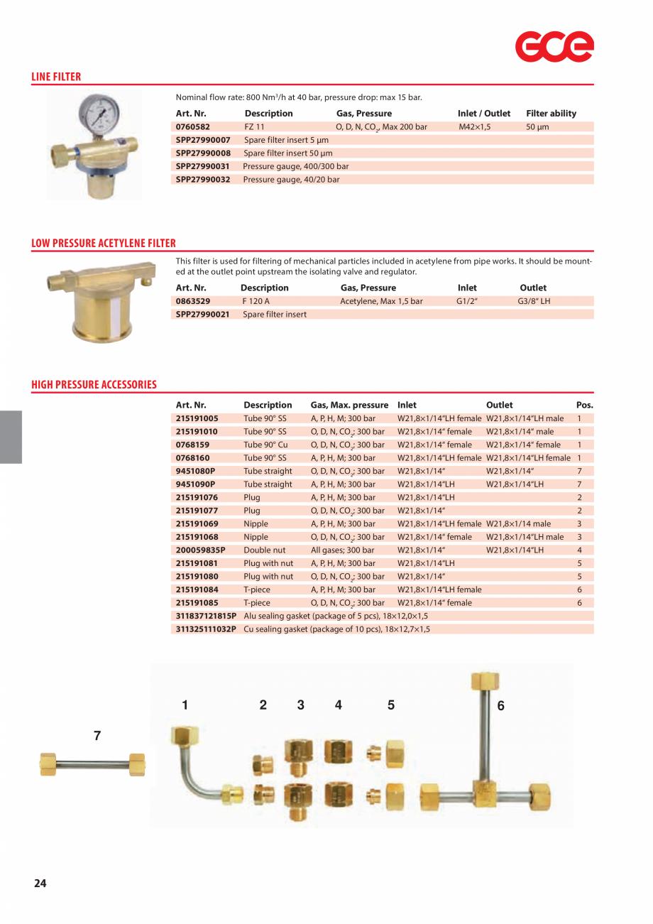 Pagina 26 - Sisteme centralizate de alimentare cu gaz - Reductoare de presiune TEHNIC GAZ GAS...