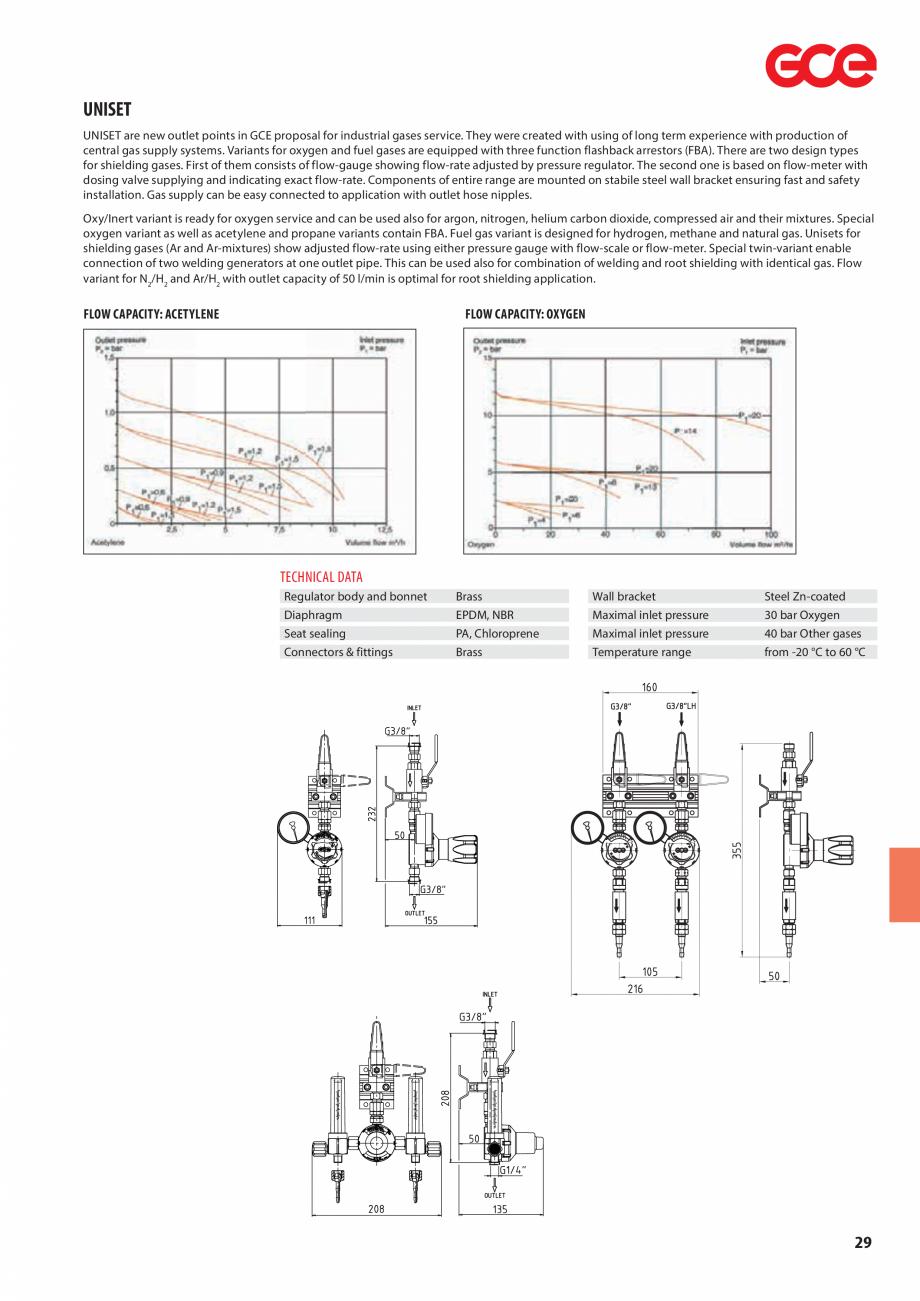 Pagina 31 - Sisteme centralizate de alimentare cu gaz - Reductoare de presiune TEHNIC GAZ GAS...
