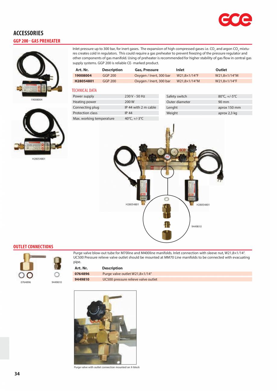 Pagina 36 - Sisteme centralizate de alimentare cu gaz - Reductoare de presiune TEHNIC GAZ GAS...