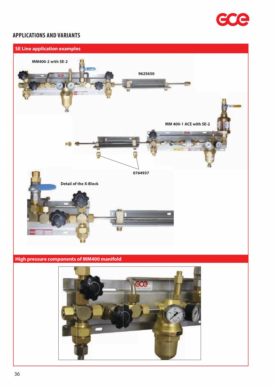 Pagina 38 - Sisteme centralizate de alimentare cu gaz - Reductoare de presiune TEHNIC GAZ GAS...