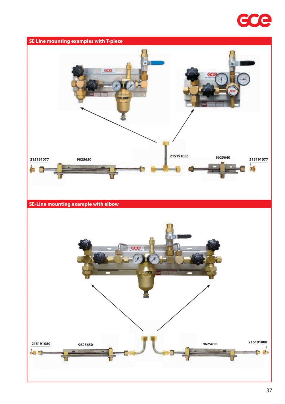 Pagina 39 - Sisteme centralizate de alimentare cu gaz - Reductoare de presiune TEHNIC GAZ GAS...