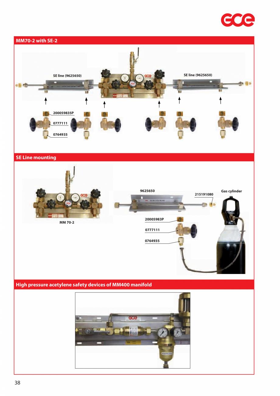 Pagina 40 - Sisteme centralizate de alimentare cu gaz - Reductoare de presiune TEHNIC GAZ GAS...