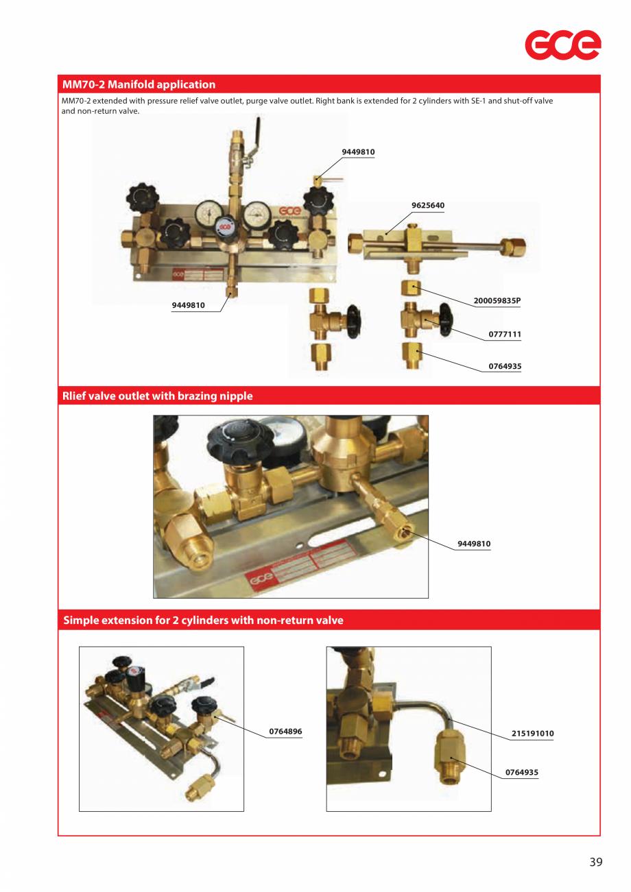Pagina 41 - Sisteme centralizate de alimentare cu gaz - Reductoare de presiune TEHNIC GAZ GAS...