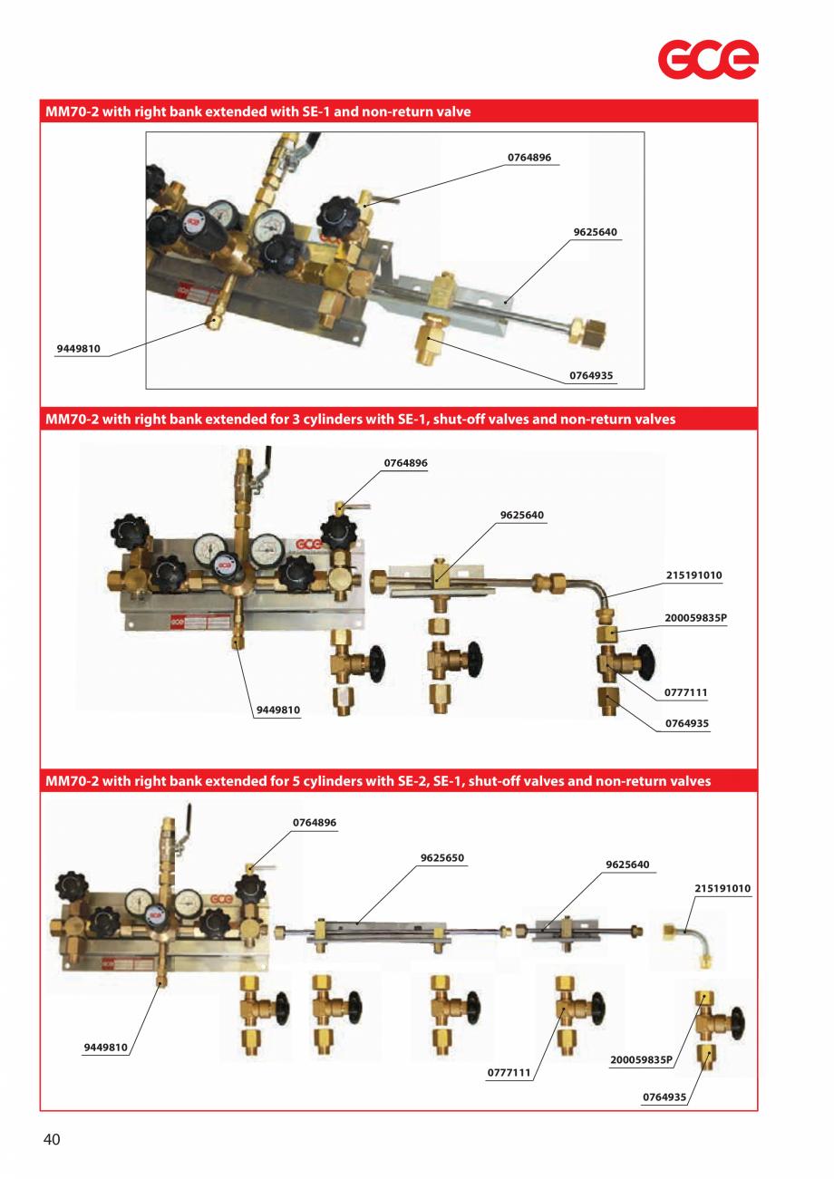 Pagina 42 - Sisteme centralizate de alimentare cu gaz - Reductoare de presiune TEHNIC GAZ GAS...