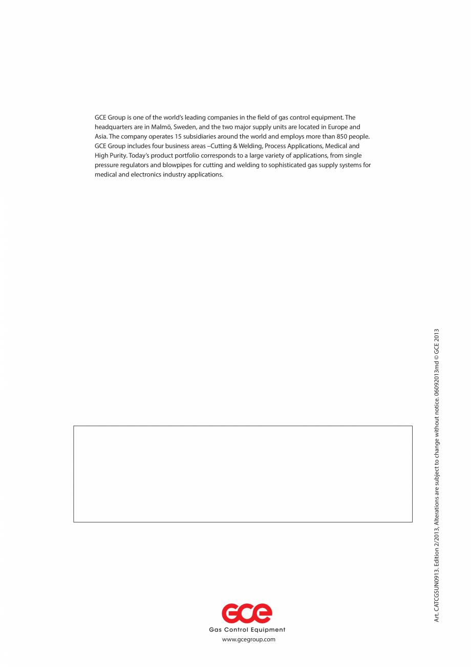 Pagina 48 - Sisteme centralizate de alimentare cu gaz - Reductoare de presiune TEHNIC GAZ GAS...