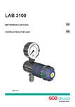 Regulator de presiune pentru laboratoare TEHNIC GAZ GAS EQUIPMENT - EMD 3100
